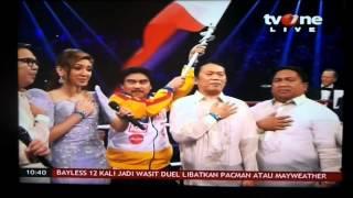 Lupang Hinirang- MayPac fight 2015