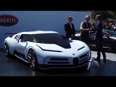 Bugatti Centodieci at Pebble Beach