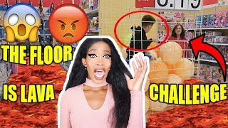 TOP DES PIRES THE FLOOR IS LAVA CHALLENGE - LE SOL C'EST DE LA LAVE ! 🔥