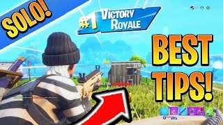 How to Win more Solos EASY in SEASON 7! Console Ps4/Xbox Tips and Tricks (Battle Royale Season 7)