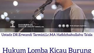 Download Video Hukum Lomba Kicau Burung - Ustadz DR.Erwandi Tarmizi,Lc.MA Hafidzhahullahu Ta'ala MP3 3GP MP4