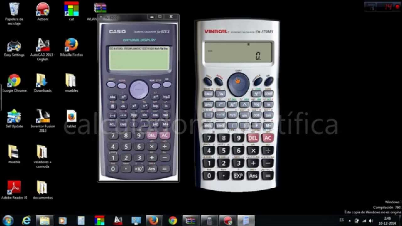 Free scientific calculator for windows.