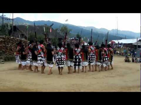 Poumai Naga Folk Dance By Phyabumai Youth on Phyabumai Guest House Dedication Day Travel Video