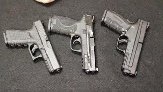S&W M&P 2.0 vs Glock 19 Gen 4 vs Springfield XD Mod 2 - Full Review