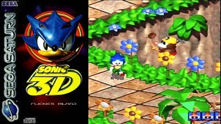 Sonic 3D Flickies Island ( Sega Saturn )