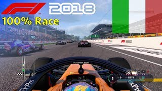 F1 2018 - Now We Can Fight With Fernando #14: 100% Race Italy