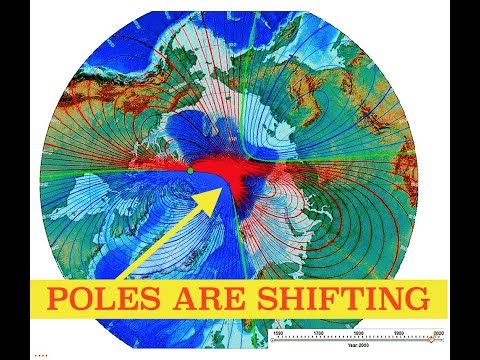 Scientists Warn, Magnetic Fields Shifting, Poles May Flip & Things Could Get Really Bad