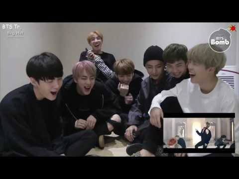 [BANGTAN BOMB] '피 땀 눈물' MV Reaction by BTS (Türkçe Altyazılı)