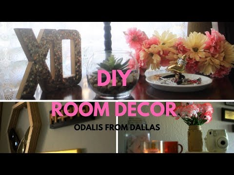 EASY DIY ROOM DECOR | OdalisfromDallas