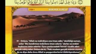 sayfa 013 Bakara 89 93 Kabe İmamları SG