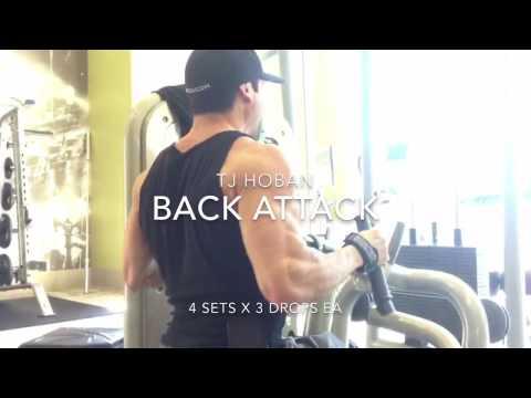 TJ Hoban's Back & Lat Workout for Building Lean Muscle