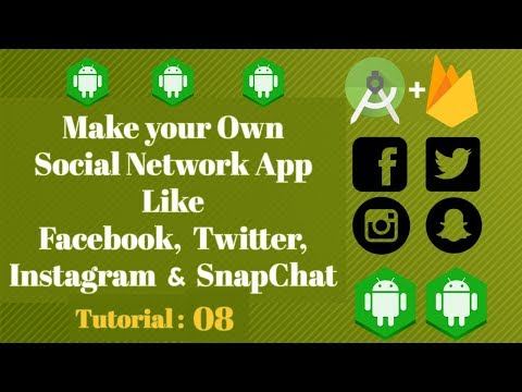 How to make Social media App like Snapchat|Instagram|Twitter - Tutorial 08 - Creating Setup Activity