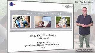 Bring Your Own Device - Aber Richtig!