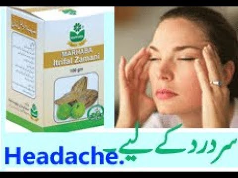 Unani medicine for the treatement of headache in english and urdu
