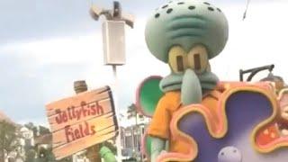 squidward hits the woah