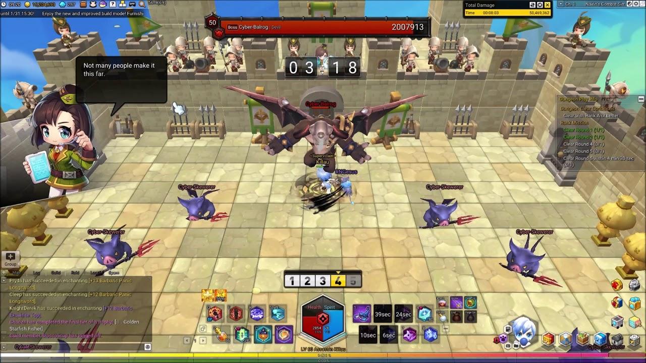Fortress Rumble Nairin S+ Rank (Killau - Assassin)