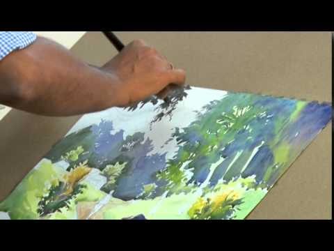 Water Colour Painting Demonstration
