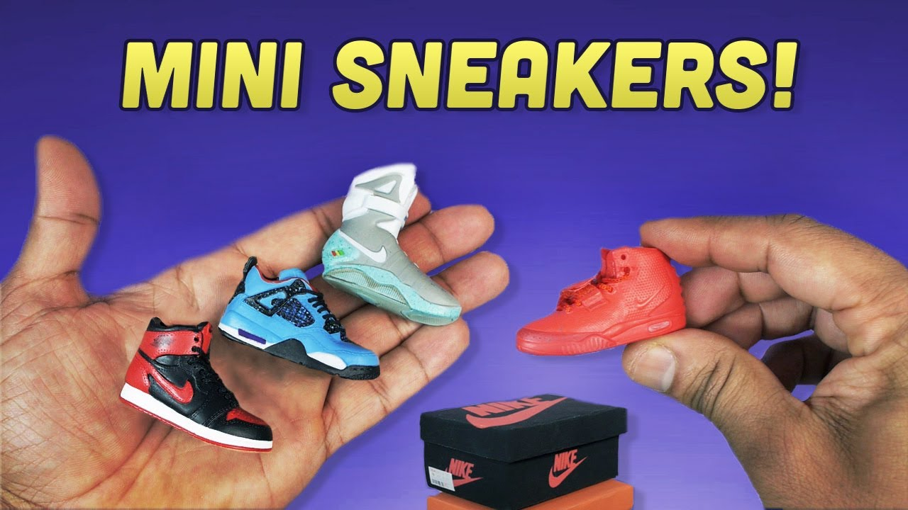 Mini Jordan Sneaker Collection - 1/6 Scale Shoes for Action ...