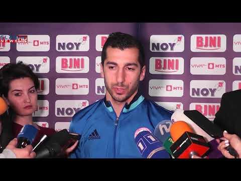 Հենրիկ Մխիթարյանը ստացավ Հայաստանի «Տարվա լավագույն ֆուտբոլիստի» մրցանակը