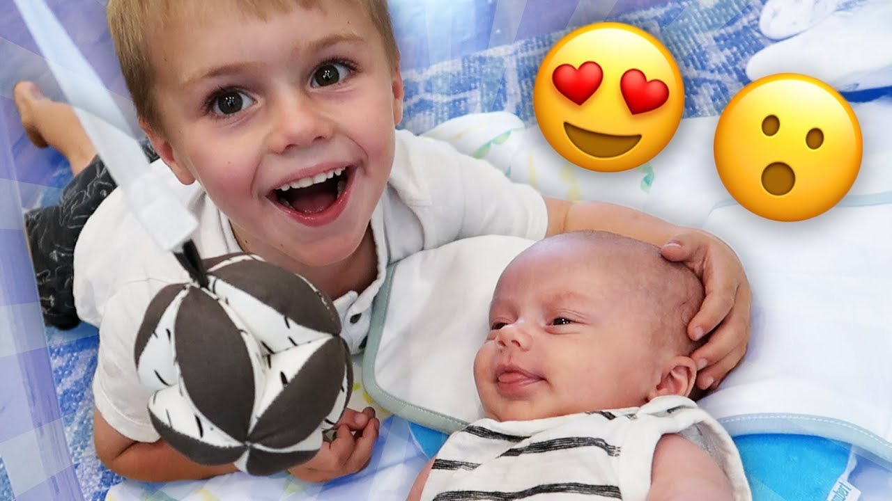 BABY'S FIRST TIME TALKING!