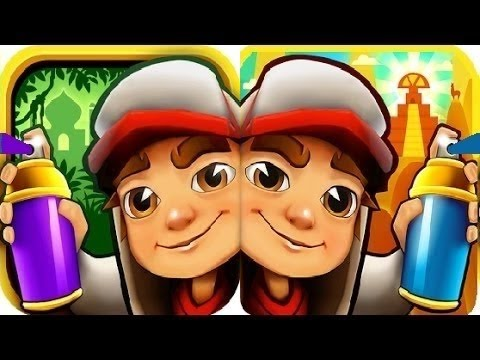 Subway Surfers Peru VS Singapore iPad Gameplay for Children HD #15