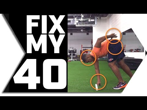 FIX MY 40 // RUN YOUR FASTEST 40 YARD DASH