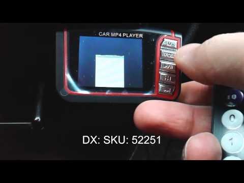 "1.8"" LCD Car MP3/MP4 Player FM Transmitter DealExtreme SKU: 52251"