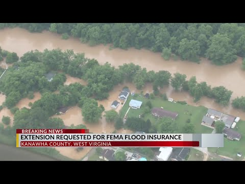 Kanawha County Commission Asks For Indefinite Extension On FEMA Flood Insurance