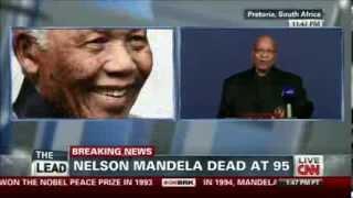 CNN Breaking News - Nelson Mandela Dead