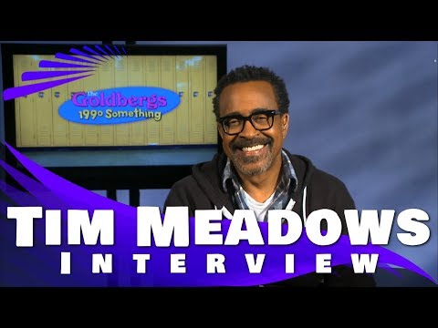 TIM MEADOWS INTERVIEW - THE GOLDBERGS, SNL AND MUCH MORE