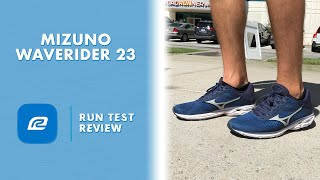 Mizuno Wave Rider 23 | Run Test Review | Best heel cushion and bounce!