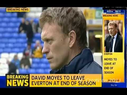 FULL Breaking News & Views David Moyes CONFIRMED As New Manager Of Man United & 6YR Deal
