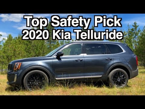 2020 Kia Telluride Receives 2019 Top Safety Pick Rating
