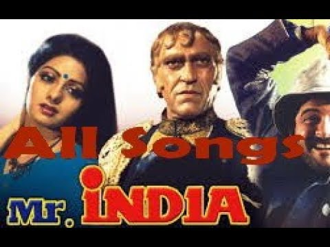 Mr India All Songs Jhankar Sri Devi Anil Kapoor
