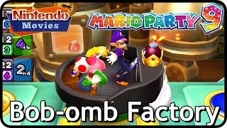 Mario Party 9 - Bob-omb Factory (3 Players, Master Difficulty)