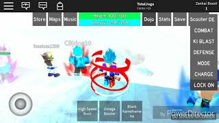 Roblox - Dragon Ball Rage - DO SSJBK20 PARA O GOD