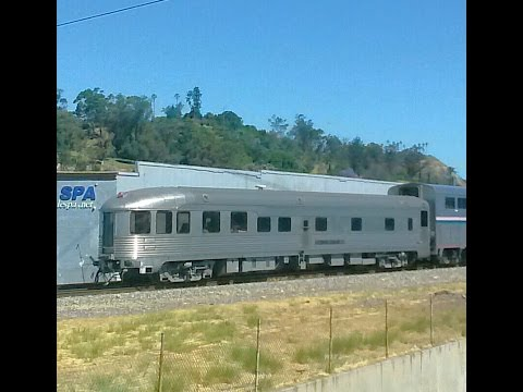 4/30/17 PV Dagny Taggart, UP 1982 and a fun morning of trains in Los Angeles