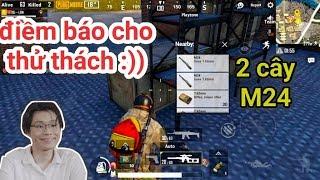 PUBG Mobile - Thử Thách 2 Cây Sniper Bảo Vệ Bé Top 1 | Khi 2 Cây M24 Nằm Cạnh Nhau