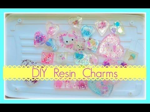 Simple DIY Resin Charms