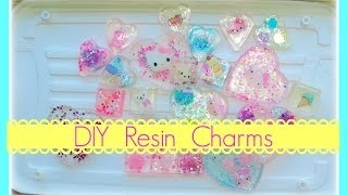 Simple DIY Resin Charms Thumbnail