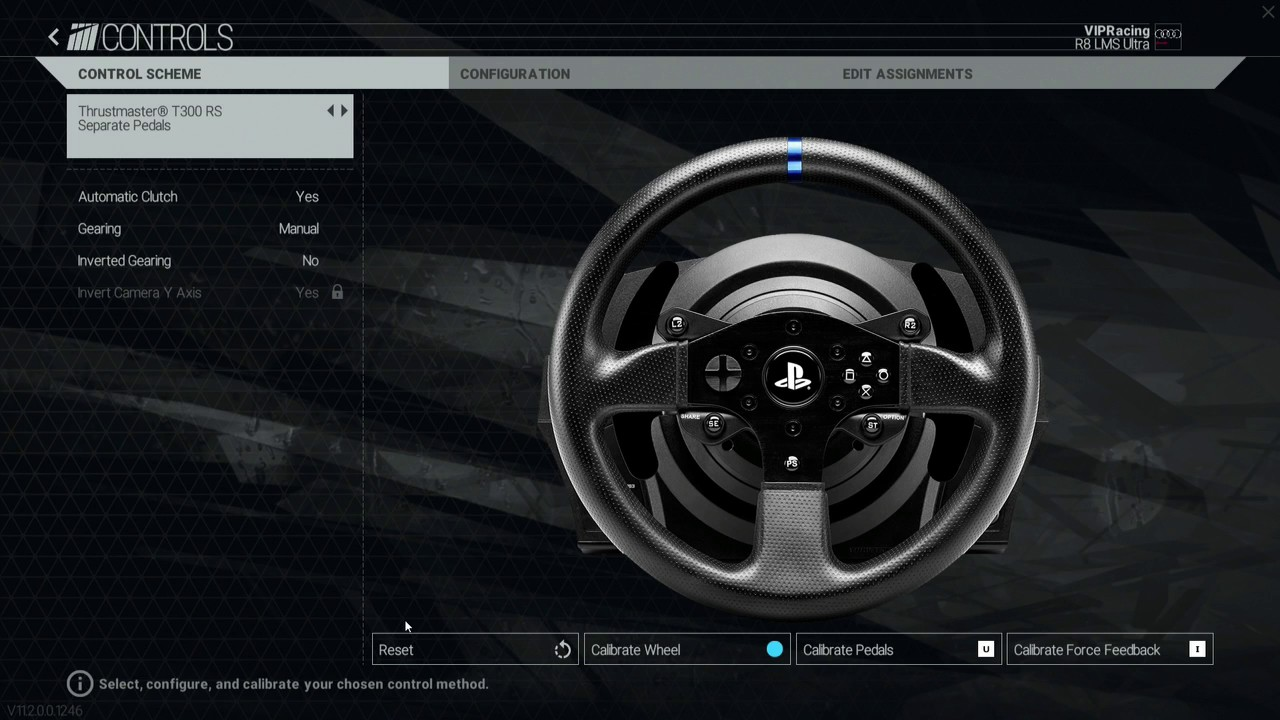 2017 (PC) Thrustmaster T300RS Wheel FFB Settings (Project CARS) & How to  Calibrate