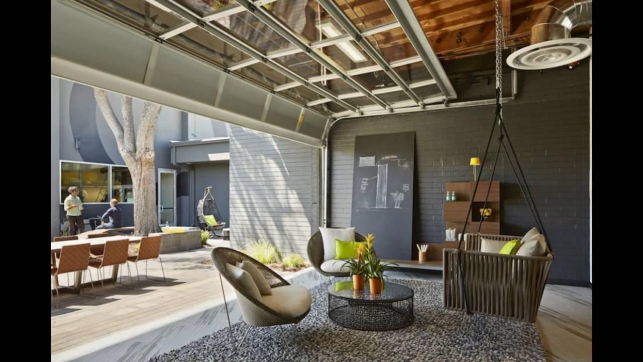 garage door living room two tone paint ideas for overhead austin s premier glass company