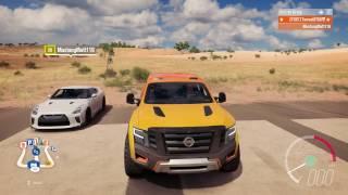 Forza Horizon 3 | Can A Nissan Titan beat a GT-R?