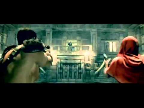Resident Evil 5 Wesker & Jill Fight   Sheva Fairy Tale)   No Damage (360p)