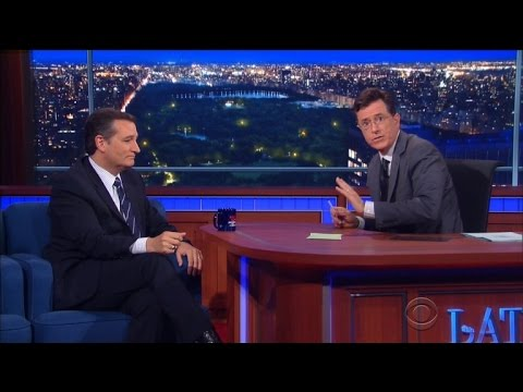 Stephen Colbert Defends Ted Cruz After Being Booed for Gay Marriage Views