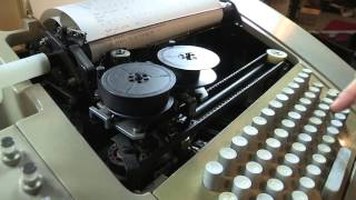 Loading a DEC BASIC Program using Teletype