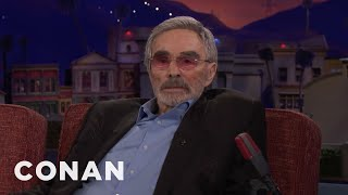 """Burt Reynolds On The """"Deliverance Line People Are Always Quoting To Him  - CONAN on TBS"""