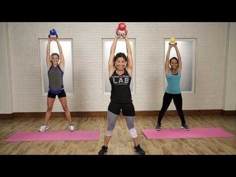 20-Minute Kettlebell Workout | Class FitSugar