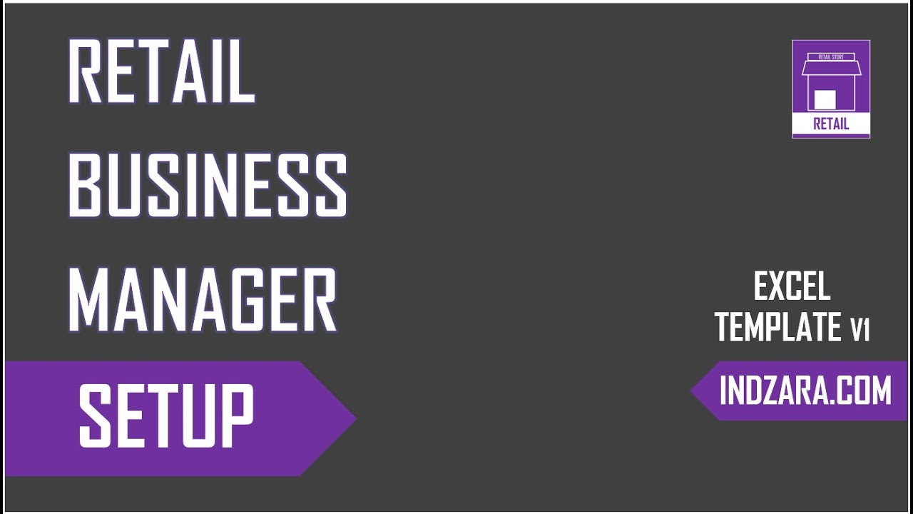 Retail business manager excel template v1 setup youtube retail business manager excel template v1 setup wajeb Images