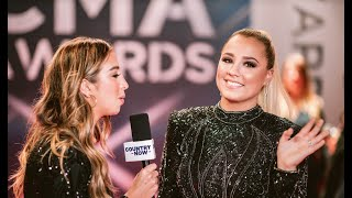 2019 CMA Awards Red Carpet: Katie Austin Chats with Riley Green, Gabby Barrett & More